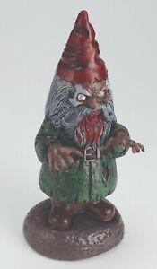 "Male Zombie Horror Garden Gnome Holloween Decor Prop 17"""