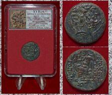 Ancient Greek Coin Antioch Ad Orontem Zeus Bronze