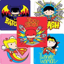 15 Justice League Chibi Stickers Party Favor DC Comic Batman Superman Super Hero