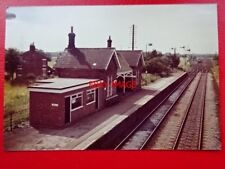 PHOTO  HABROUGH RAILWAY STATION LOOKING NORTH 25/7/81