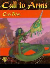 L5R CLAN WAR LIVRET CALL TO ARMS