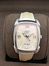 New Parmigiani Fleurier Automatic Kalpa Grande S Steel Diamond Watch Box/Papers