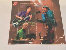 Austria 2003 Rolling Stones Music, Scott #1924 Mnh Nice Souvenir Sheet Of 4
