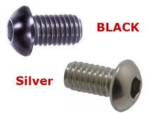 Black Acor AL7075 CNC Bottle Cage Bolts