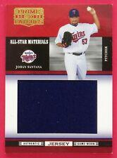2005 Prime Patches Johan Santana 085/277 All-Star Materials Jumbo Swatch #1