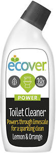 Ecover Power Toilet Cleaner Lemon And Orange 750ml Tackles Limescale And Calcium