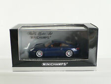Minichamps 1/43 Porsche 911 GT3 Road Car  996 Lapis Blue  V Rare 2003