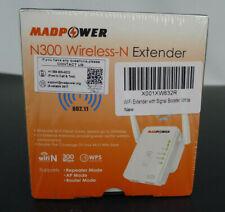 Madpower Wifi Extender N300 Wireless-N Signal Range Booster 300mbps 802.11