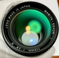 Tested [Exc+3] Mamiya Sekor C 110mm f/2.8 N MF Lens 645 1000S Pro TL from JAPAN