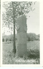 CENTRAL CITY,NEBRASKA-LONE TARE MONUMENT-RPPC-(RP#1-496)