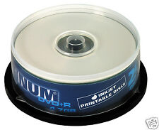 Platinum DVD+R 4,7 GB Bedruckbare DVD-Rohlinge (16x Speed) 25er Spindel 100121