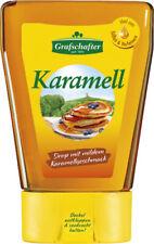 3x Grafschafter Karamell Sirup zum Süßen & Verfeinern Spenderflasche 500g