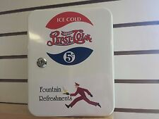 PEPSI COLA VINTAGE ERA STYLE FOUNTAIN SERVICE BOOTH  COUNTER KEYBOX