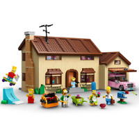 NEW BRAND Custom The Simpsons House Compatible TO Lego 71006 + Instrustion Books