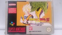 JUEGO y CAJA DRAGON BALL Z LA LEGENDE SE SAIEN SUPER NINTENDO SNES PAL SNES