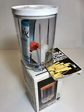 VINTAGE RETRO 1970s ? BIALETTI TUMBLER ROLLMIX NEW OLD STOCK MIXER COFFEE GRIND