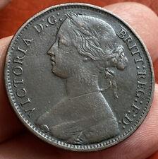 GB Victoria 1 Penny 1861