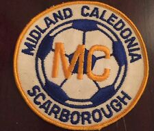 1980's Midland Caledonia Scarborough Ontario Soccer Patch