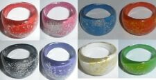 Acrylic Band Costume Rings