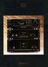Very rare 1992 Sony ES brochure CDPX APM TA-E TA-N STR TA-F ST-S TCK STR on CD-R