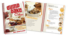 Dump & Bake Cakes Cookbook color photos, One Pan Mixing tasty cake recipes+ NEW