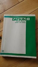 Datsun Violet A10, dealer issue workshop manual, good used condition.