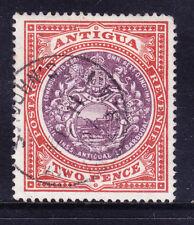 ANTIGUA EdVII 1903 SG33 2d dull purple & brown - wmk Crown CC- fine used cat £25