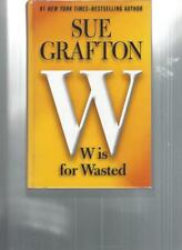 SUE GRAFTON - W IS FOR WASTED - LP102