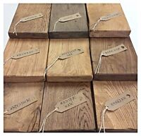 Solid Oak floating Shelves PACK OF 3 X 2 FOOT SHELVES shelf pack FREE BRACKETS!