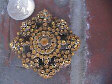 Art Deco Edwardian Rhinestone Bodice Brooch Pin