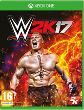 XBOX One gioco WWE 2k17 World Wide Wrestling 2017 Catchen incl. Goldberg DLC NUOVO