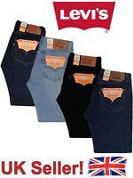 Levis 501 Levi's Strauss Denim Straight Fit New Blue Jeans