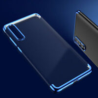 For Huawei P20 Pro Lite Shockproof Hybrid Tranparent Silicone Bumper Case Cover