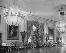 Christmas Tree in East Room of White House Washington DC 1936 - New 8x10 Photo