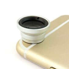 3 in 1 Fisheye Wide Angle Macro Photo Camera Lens for Galaxy S4 S5 S6 Note 3 4 5