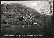 cartolina ROCCA DI CAMBIO panorama con m.cagno