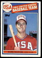 1985 Topps #401 Mark McGwire NM-MT RC Rookie OLY