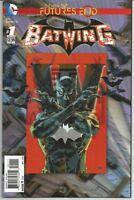 Batwing #1 : 3-D Cover : DC Comics : November 2014