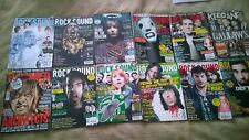 12 Rocksound Metalhammer and Kerrang Magazine In Total Heavy Metal
