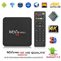 MXQ PRO Android 7.1 S905W Quad Core 64 bits 1+8G Smart Caja de TV 4Kx2K WiFi UE