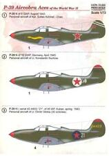 Print Scale Decals 1/72 BELL P-39 AIRACOBRA ACES OF WORLD WAR II