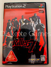 KILLER 7 - PLAYSTATION 2 PS2 PLAY STATION 2 - NTSC JAPAN JAP - KILLER7 CAPCOM