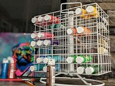 NEW Craft Acrylic Paint Storage Rack Organizer Wire Carousel Revolving