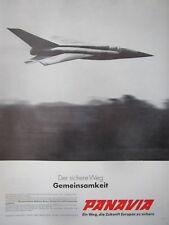 3/1970 PUB PANAVIA TORNADO COMBAT AIRCRAFT MBB FIAT BAC PVA3 ORIGINAL GERMAN AD