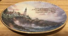 """Thomas Kinkade """"Clearing Storms� Fourth Issue In Guiding Lights Series"""
