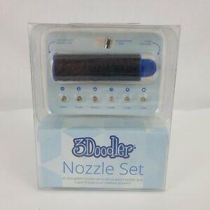 3Doodler Nozzle Set 6 Pieces Compatible With 3Doodler 2.0 NIB
