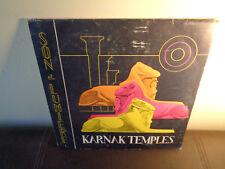 ILLUSTRATIONS SONORE Temples de Karnak IAm MUSIC LIBRARY 2x2LP ALBUM W/ BOOKLET