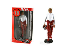 DIDIER PIRONI IN RACING SUIT HOLDING HELMET FIGURE 1/18 LEMANS MINIATURES 180018