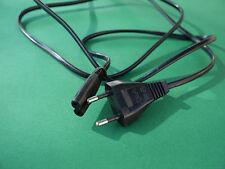 Netzkabel Netzstecker auf Euro 8 Buchse Anschlusskabel Stromkabel 2 polig 2 PIN
