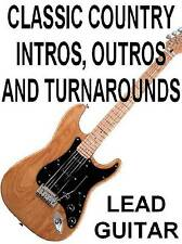 Classic Country Intros, Outros & Turnarounds DVD Lead Guitar Lessons A Must Have